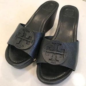 LIGHTLY WORN TORY BURCH 'PATTI' SANDALS